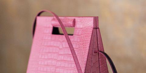 Pink, Paper, Material property, Magenta, Paper product, Bag,