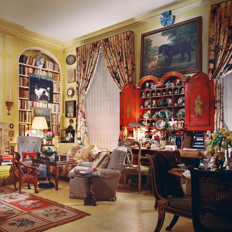 Room, Building, Interior design, Furniture, Living room, Home, House, Table, Antique,