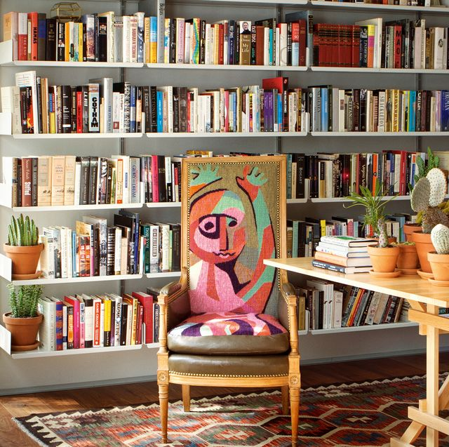 Shelving, Shelf, Bookcase, Furniture, Library, Room, Interior design, Building, Bookselling, Living room,