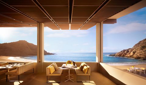 Property, Sky, Room, Interior design, Ceiling, Architecture, Wall, Building, House, Sea,