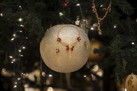 Jewellery decorates an 11-million-dollar
