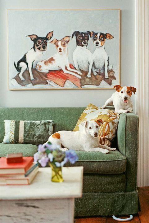 si adoras a tu mascota por encima de todo, anímate a encargar un cuadro que la inmortalice