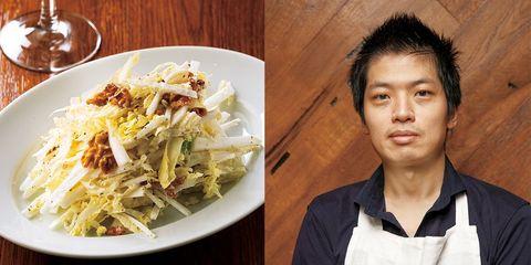 白菜サラダ|「オーオンブーシュ」河村神賜シェフ直伝