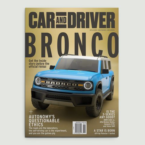 car and driver february 2020 cover
