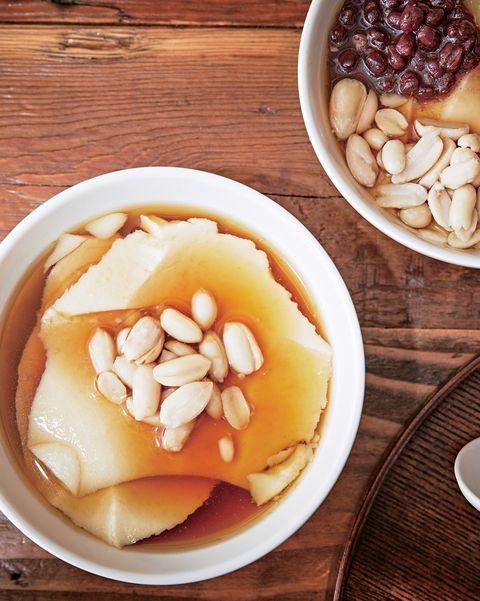 dish, food, cuisine, ingredient, douhua, produce, snack, dessert, vegetarian food, recipe,