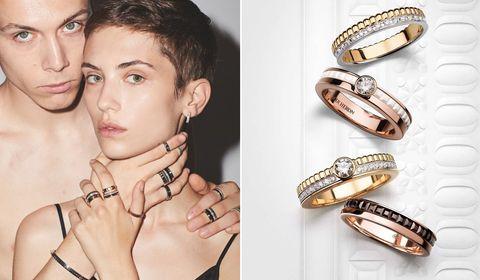 �Quatre,Boucheron,婚戒,求婚,facette,鑽石,推薦