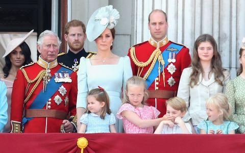 喬治王子,夏綠蒂公主,凱特王妃,威廉王子英國女王,伊莉莎白二世,生日,閱兵