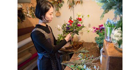 Floristry, Flower Arranging, Floral design, Flower, Plant, Bouquet, Art, Houseplant, Ikebana, Building,