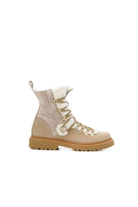 Footwear, Shoe, Beige, Hiking boot, Boot, Brown, Sneakers, Outdoor shoe, Snow boot,