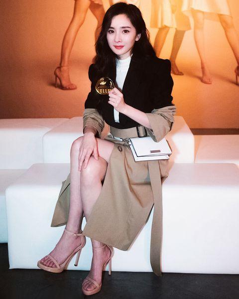 楊冪, 紐約時裝週, 訪問, stuart weitzman, 高跟鞋,短靴,代言人,  紐約,  2019秋冬,鞋,挑鞋秘訣,女星訪問,名人訪問