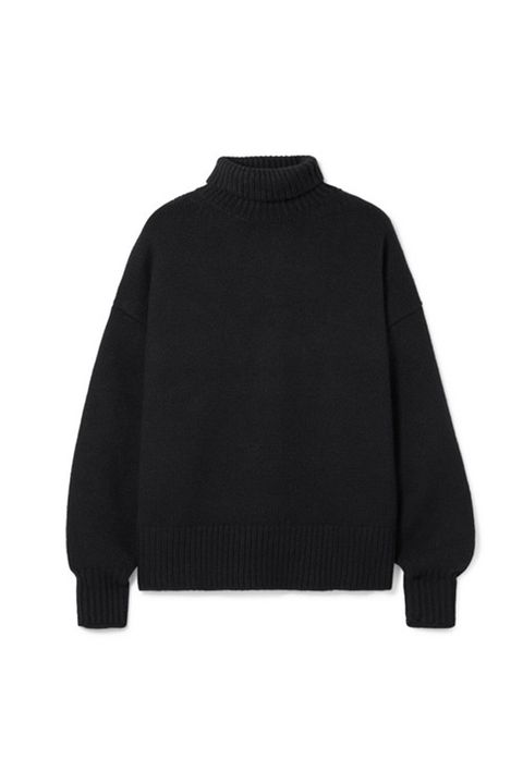 Clothing, Black, Outerwear, Sleeve, Sweater, Collar, Neck, Jacket, Wool, Jersey,