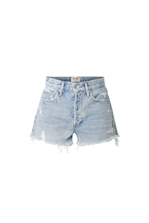 Denim, Clothing, Jeans, White, Shorts, Blue, jean short, Textile, Pocket, Waist,