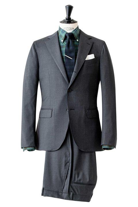 スーツ, グレースーツ, アメリカンスタイル, ファッション