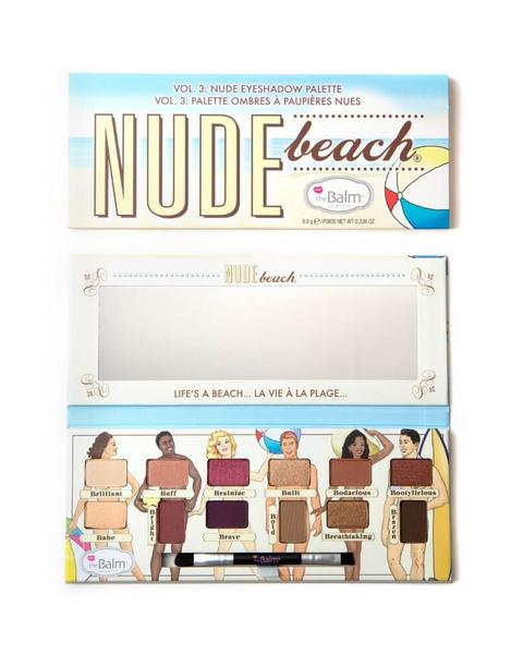 theBalm 裸體海灘眼彩盤