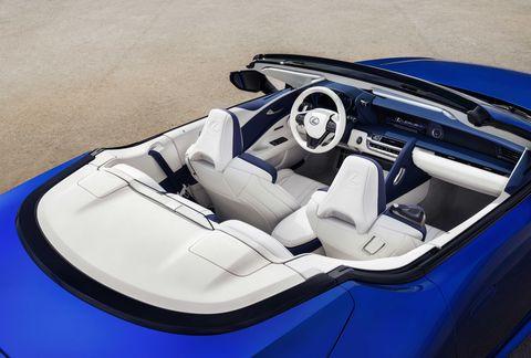 レクサス、lc500コンバーチブル, オープンカー, 新車、クルマ