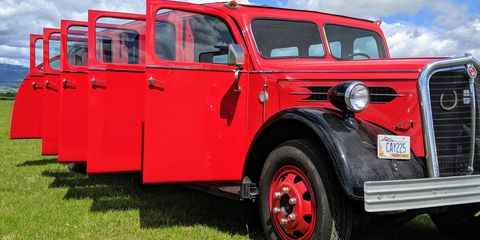 1937 mount rainier kenworth tour bus was the epitome of style in the great depression