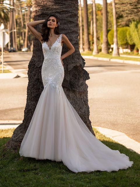 プロノビアスのマーメイドドレス