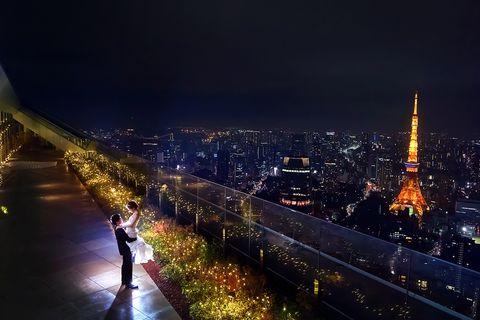 『アンダーズ 東京』52階のテラス
