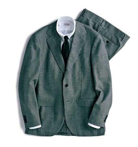スーツ, グレイスーツ, 品格 ,  グレイ, メンクラ,ファッション