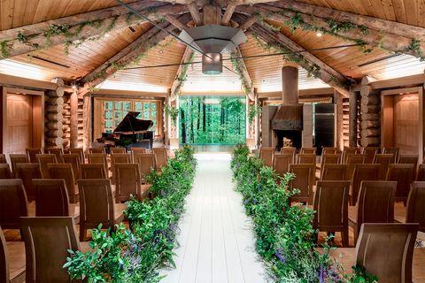 北海道『ニドム リゾート』の森彩の教会