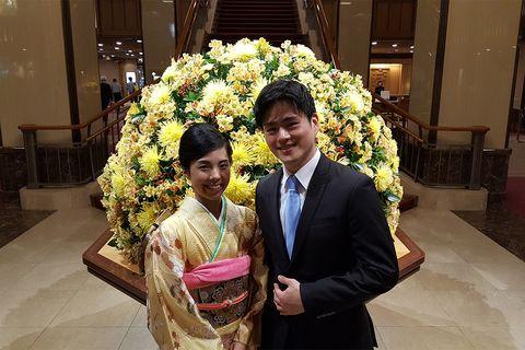 「帝国ホテル 東京」での両家顔合わせ