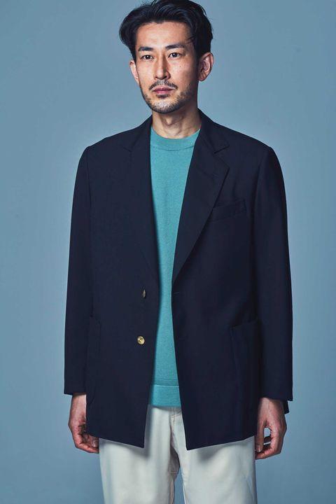 ジャケット , ネイビージャケット, 日本ブランド, スタイル , ファッション, メンクラ, マディソンブルー , ユーゲン, ラ ファーボラ