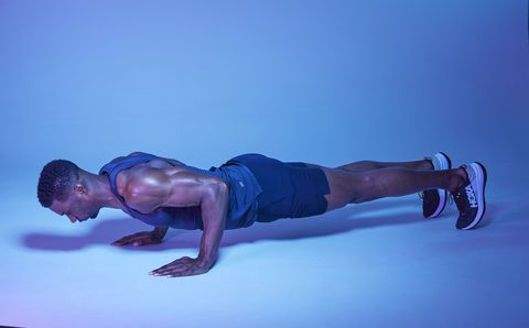 stay low pushup pulses