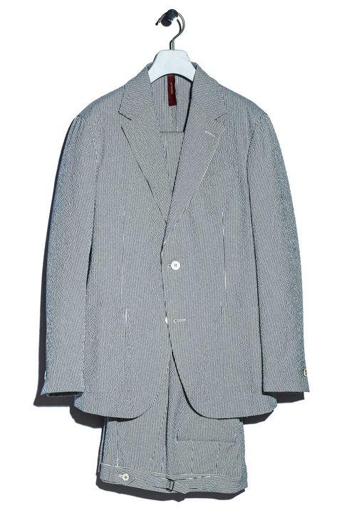 仕事着 , ジャケット,  スーツ, シアサッカー ,  ファッション, メンクラ