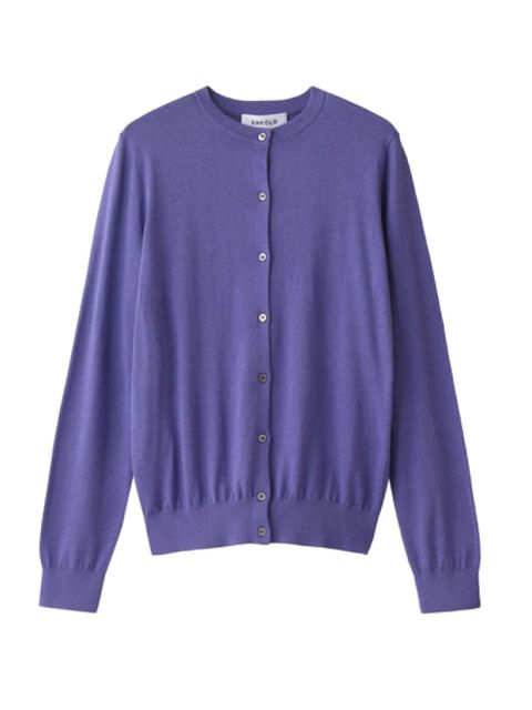 Blue, Product, Sleeve, Collar, Purple, Textile, Outerwear, White, Violet, Electric blue,