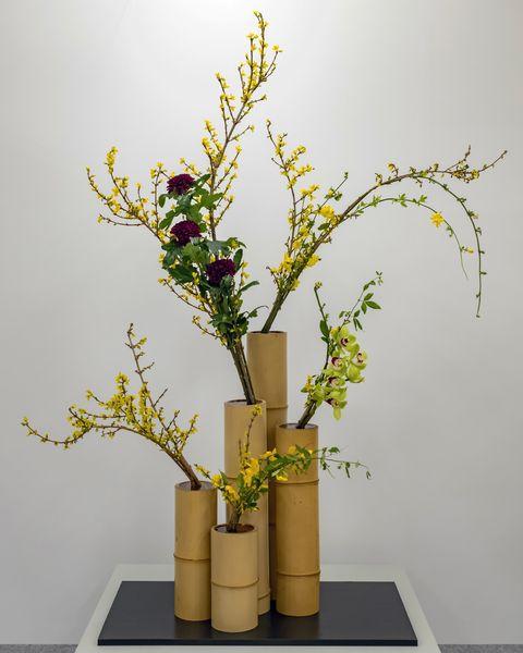 西日本華道連盟70回いけばな展「花あそび しませんか?」