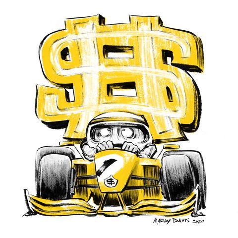 Racing Takes Cash
