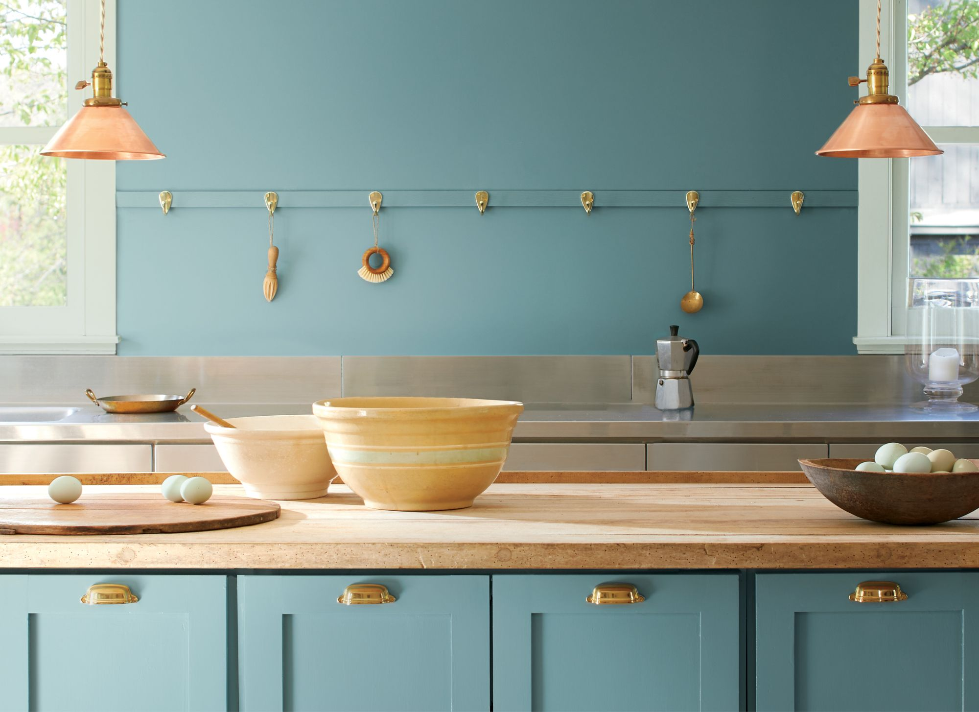Benjamin Moore Paint Colour Of The Year For 2021 Aegean Teal