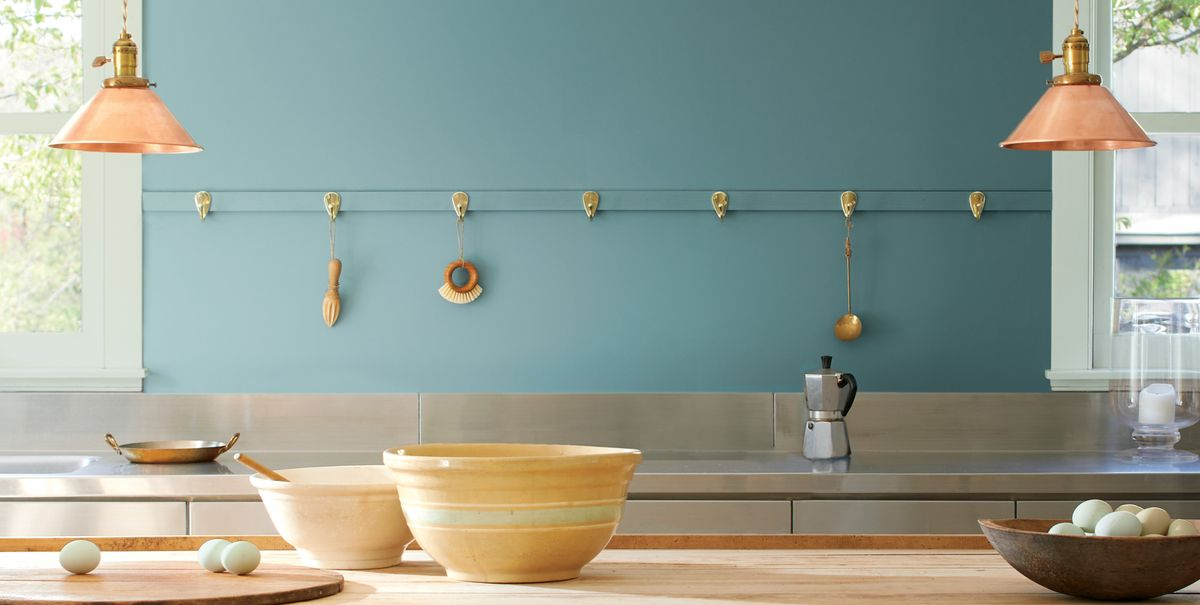 Benjamin Moore Paint Colour Of The Year For 2021: Aegean Teal
