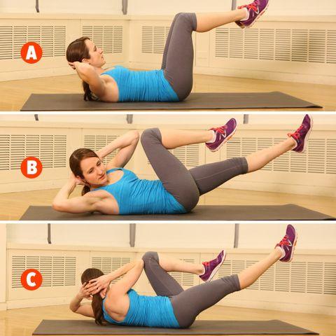 Total-body training circuit