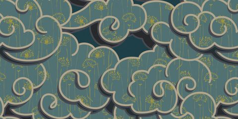 Pattern, Teal, Turquoise, Aqua, Design, Motif, Visual arts, Pattern, Paisley,