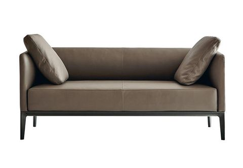 Furniture, Couch, Sofa bed, studio couch, Loveseat, Brown, Outdoor sofa, Beige, Outdoor furniture, Leather,