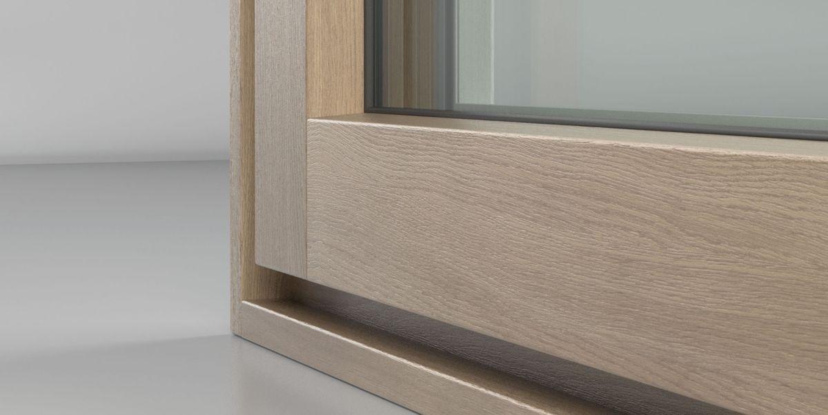 Legno e alluminio insieme per finestre ad alte prestazioni - Vernice per finestre in legno ...