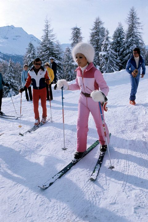 vintage ski photos retro vibes