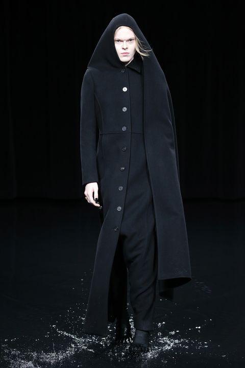 Clothing, Outerwear, Overcoat, Fashion, Coat, Cloak, Mantle, Sleeve, Trench coat, Abaya,