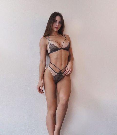 Lingerie, Clothing, Undergarment, Brassiere, Bikini, Fashion model, Model, Thigh, Swimwear, Leg,