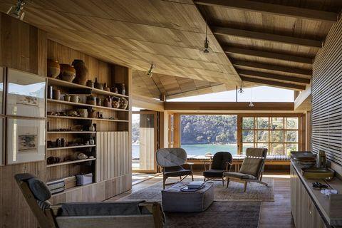 Captain Kelly's Cottage, John Wardle Architects - Bruny Island, Tasmania.