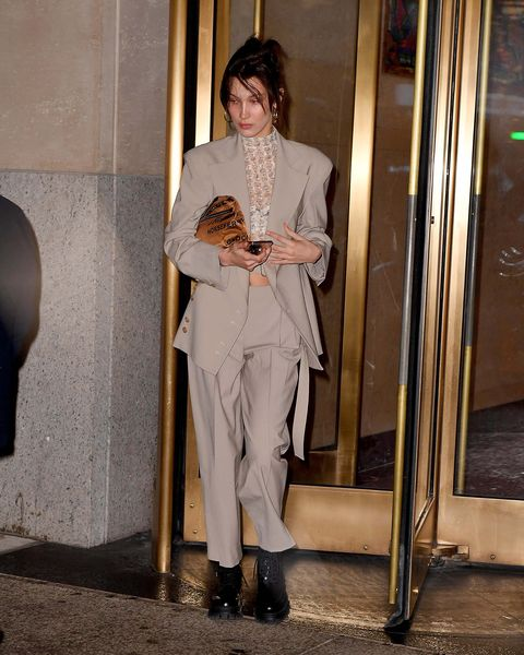 Clothing, Fashion, Outerwear, Leg, Trousers, Fashion design, Waist, Haute couture, Street fashion, Beige,