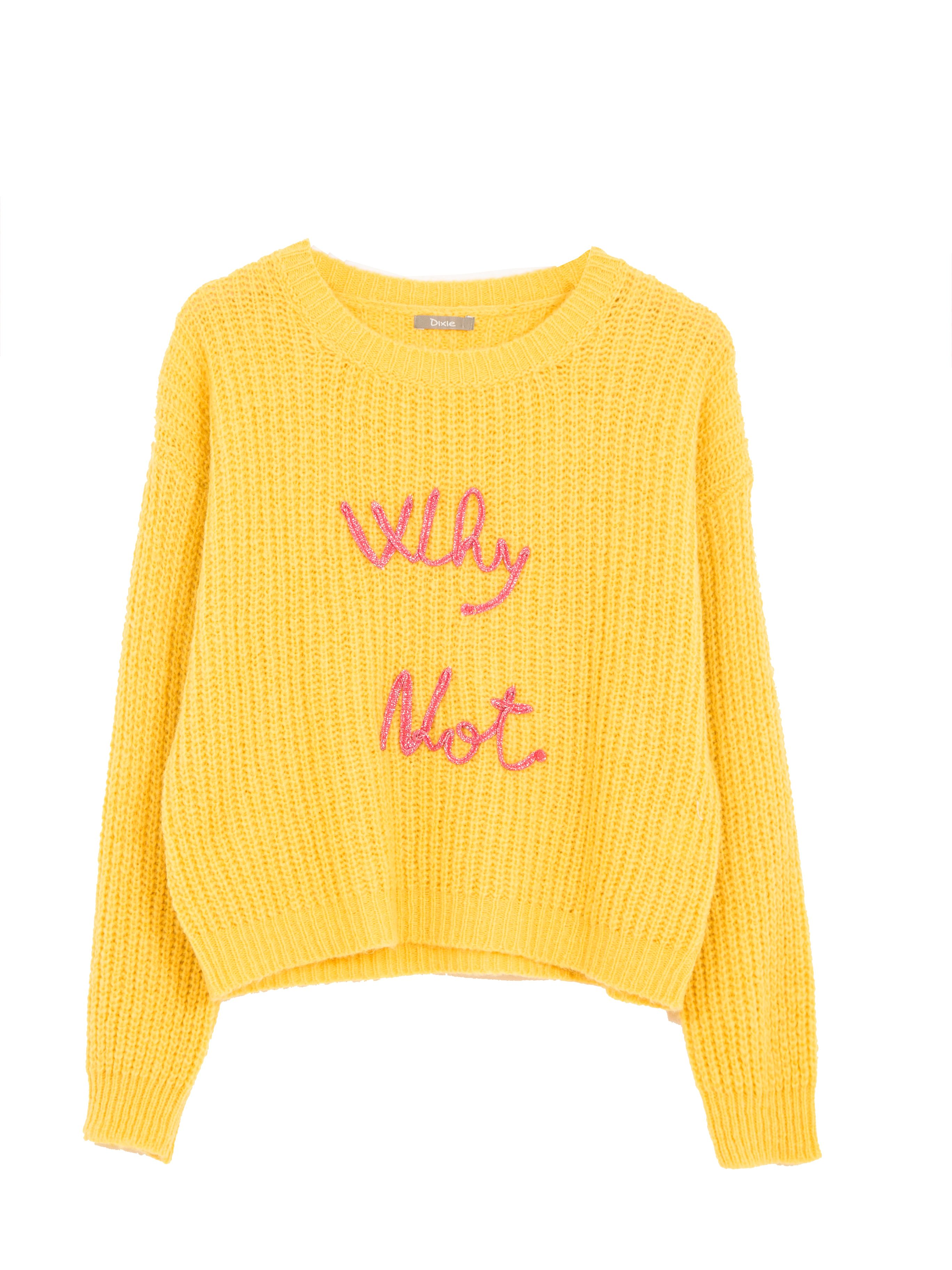Vai offline dai social per dire al mondo reale come stai e cosa pensi. I maglioni con le scritte sono il tuo status 100% lana.