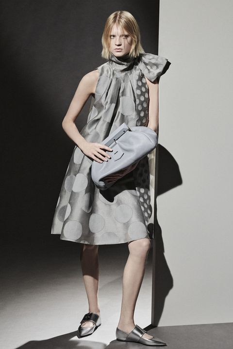 Clothing, Shoe, Sleeve, Shoulder, Style, Dress, Collar, Bag, Formal wear, One-piece garment,