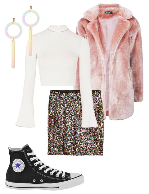 New Years' Eve Outfits - Converse New Years Looks