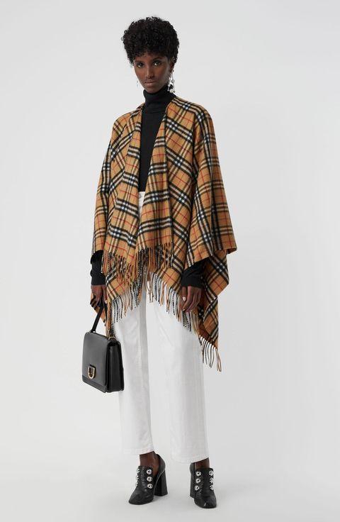 poncho inverno 2019, mantella inverno 2019, cappotti inverno 2019, coperte come mantelle inverno 2019, giacche inverno 2019