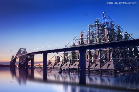 Water, Reflection, Bridge, Sky, Landmark, Iron, Architecture, River, Truss bridge, Cantilever bridge,