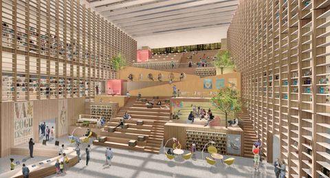 國圖南館圖書館九典聯合建築師事務所