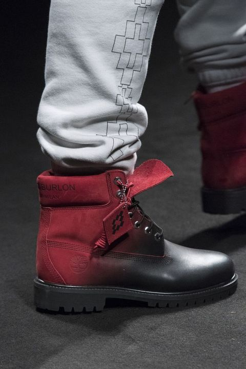 Shoe, Footwear, Red, Boot, Carmine, Outdoor shoe, Snow boot, Work boots, Motorcycle boot, Riding boot,