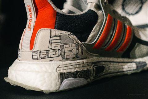Footwear, White, Shoe, Orange, Sneakers, Sportswear, Carmine, Athletic shoe, Personal protective equipment, Basketball shoe,
